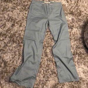 Level 99 sky blue wide legged pants